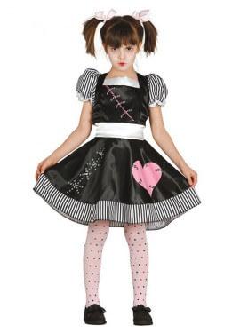 Disfraz de Muñeca Pepona La Muerte para niñas