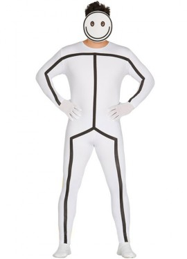 Disfraz de Muñeco de Meme para hombre