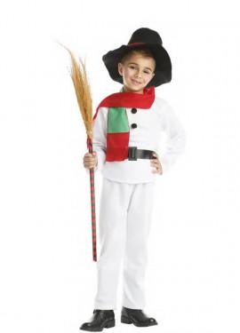 Disfraz de Muñeco de Nieve para niño y bebé
