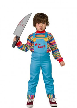 Costume da bambola diabolico per un bambino