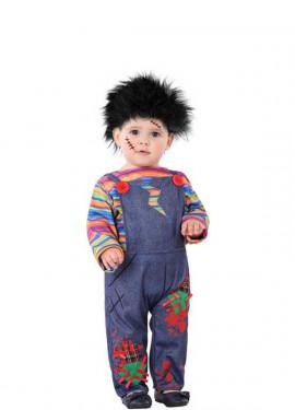 Disfraz de Muñeco Diabólico para niño y bebé