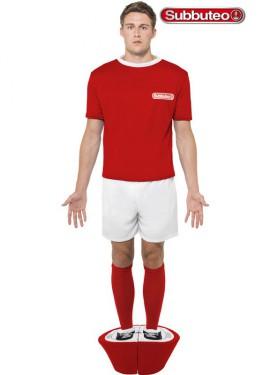 Disfraz de Muñeco rojo de Subbuteo para hombre