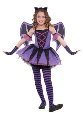 Disfraz de Murciélago bailarina para niñas para Halloween