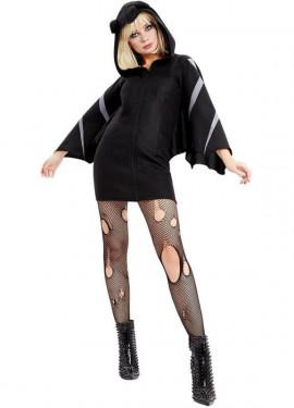 Disfraz de Murciélago Negro para mujer