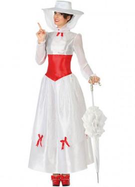 Costume da bambinaia vittoriano per donna