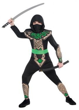 Déguisement de Ninja  Dragon pour Garçons  plusieurs tailles