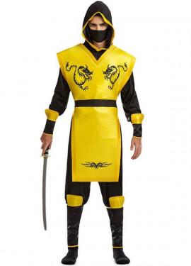Disfraz de Ninja Escorpión para hombre