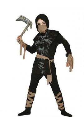 Déguisement de Ninja Squelette pour garçon.