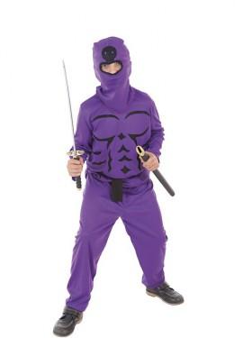 Déguisement Ninja Lila pour garçon