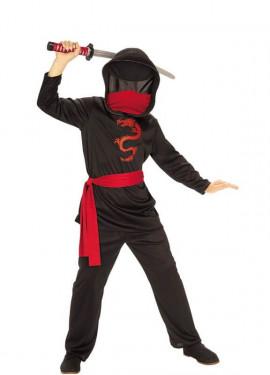 Déguisemnt de Ninja sans Face pour garçon