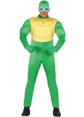 Disfraz de Ninja Verde para hombre