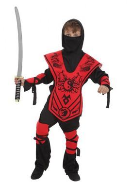 Disfraz de Ninja Yin Yan para niño