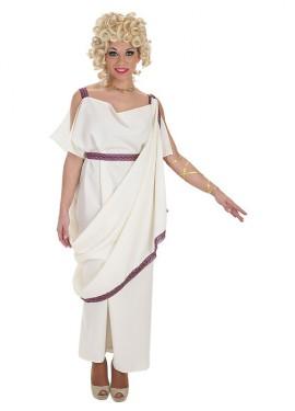 Disfraz de Noble Romana Pólux para mujer