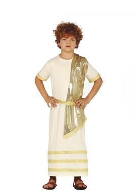 Disfraz de Noble Romano para niño