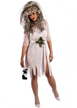 Disfraz de Novia Cadáver de mujer para Halloween