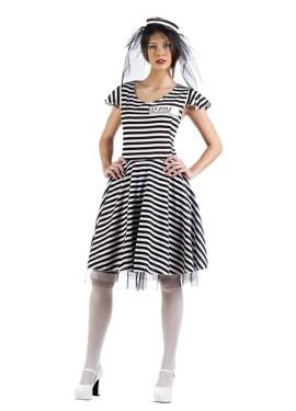 Disfraz de Novia presa para mujer