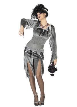 Disfraz de Novia Zombie para mujer para Halloween