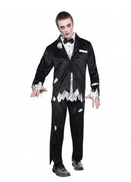 Disfraz de Novio no muerto para hombres para Halloween