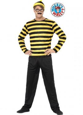 Disfraz de Odlaw de Donde está Wally para hombre
