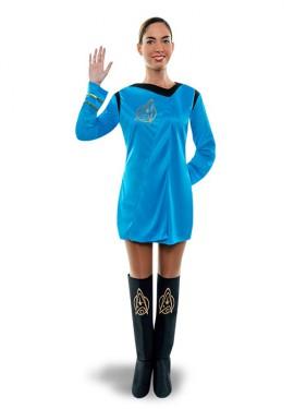 Disfraz de Oficial galáctica para mujer