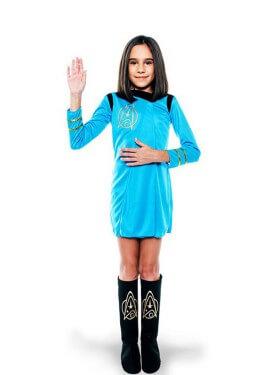Disfraz de Oficial galáctica para niña