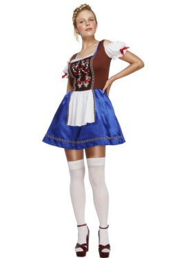 Disfraz de Oktoberfest Dirndl para mujer