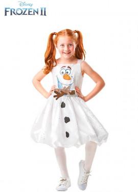Disfraz de Olaf Deluxe de Frozen 2 para niña