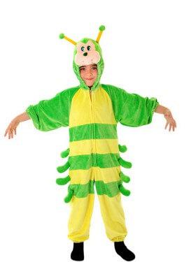 Disfraz de Oruga Amarilla para niños