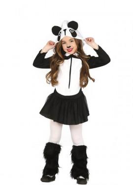 Disfraz de Osa Panda Coqueta para niña