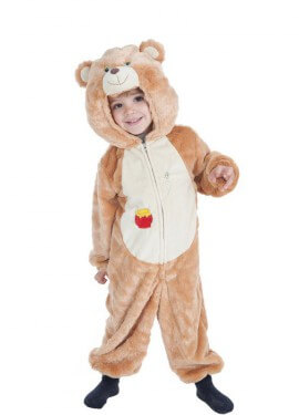 Disfraz de Osito Miel para niño