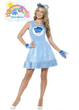 Disfraz de Oso Amoroso azul para mujer