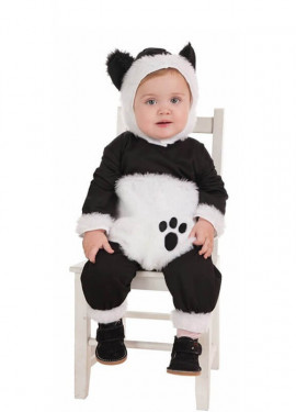 Disfraz de Oso Panda Mimoso para bebé