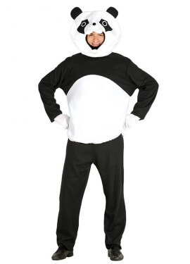 Disfraz de Oso Panda para hombre