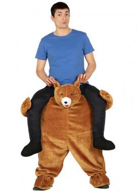 Disfraz de Oso Pardo a hombros para adultos