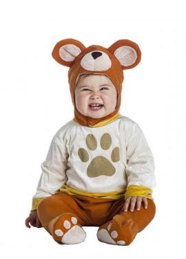 Disfraz de Oso Teddy para bebé