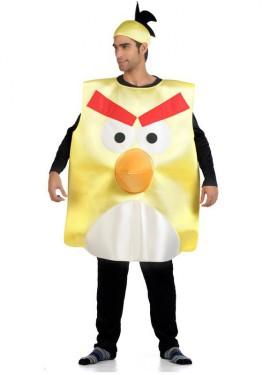 Disfraz de Pájaro amarillo para adultos