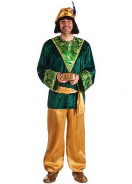 Costume da paggio del re Gasparre per uomo