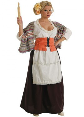 Déguisement Boulangère médiévale pour femme