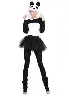 Disfraz de Panda con Tutú para mujer