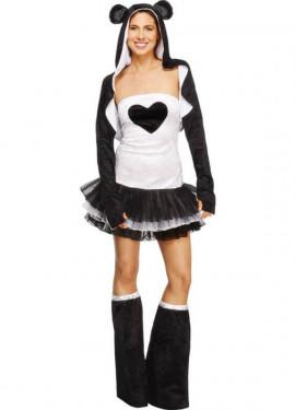 Disfraz de Panda tutú para mujer