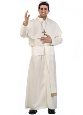 Disfraz de Papa Blanco para hombre