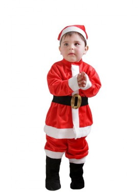 Disfraz De Papa Noel Para Hombre - Bebes-vestidos-de-papa-noel