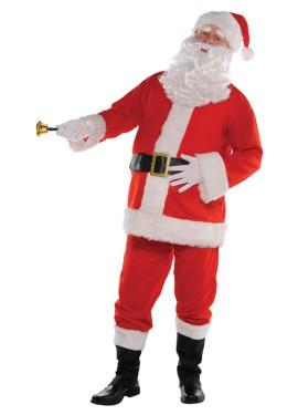 Disfraz de Papá Noel classic para hombre para Navidad