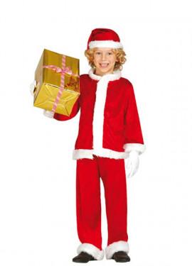 Disfraz de Papa Noel Extra para niño