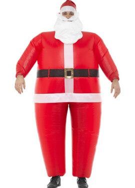 Disfraz de Papá Noel Hinchable para adultos