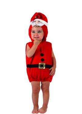 Disfraz de Papa Noel para bebés de 12 a 24 meses