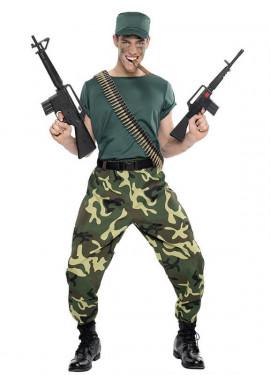 Costume paramilitare per gli uomini
