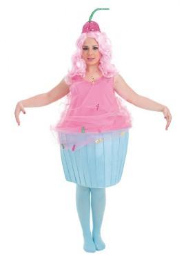 Disfraz de Pastel Cupcake para mujer