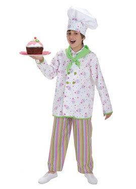 Déguisement Confiseur Cupcake pour garçon