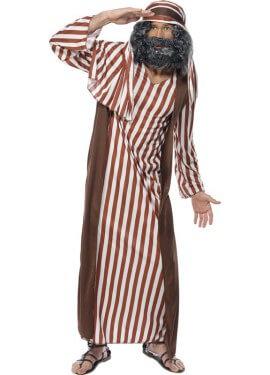 Disfraz de Pastor a Rayas para hombre
